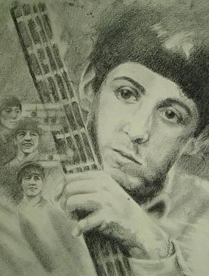 Drawing - Young Paul by Joanna Gates