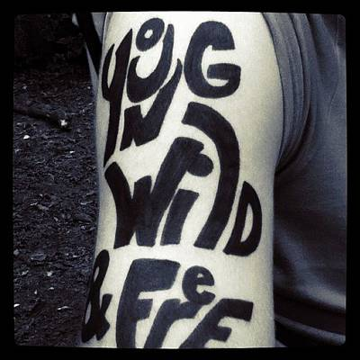 Skin Photograph - Young Wild And Free by Tiffany Harned
