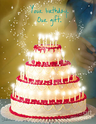 Your Birthday Is Our Gift Art Print