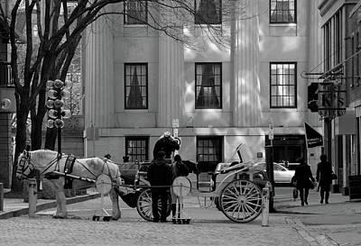 Your Carriage Awaits Art Print by Kristine Patti