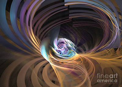 Digital Art - Your Inner Cosmos Exceeds The Outer One by Sipo Liimatainen