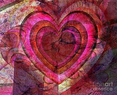 Heart Images Mixed Media - Your Own Heart by Fania Simon