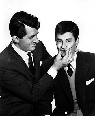 1955 Movies Photograph - Youre Never Too Young, Dean Martin by Everett