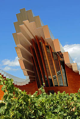 Photograph - Ysios Winery Spain by John Stuart Webbstock