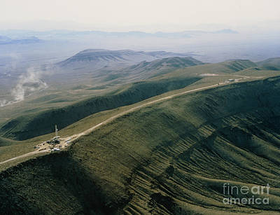Yucca Mountain Site, Nuclear Waste Art Print