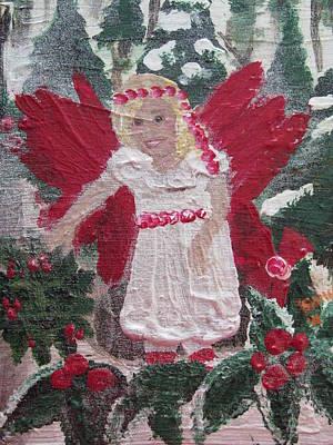 Yule Fairy Art Print