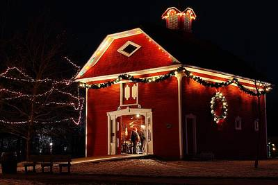 Photograph - Yuletide Celebration In The Carriage House by Scott Hovind