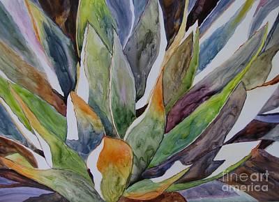 Yupo - Agave Art Print