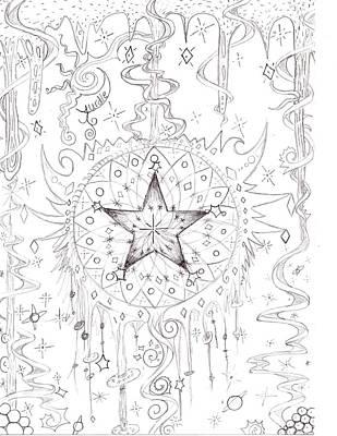 Swirly Drawing - Yurdle by Kurtis Clark