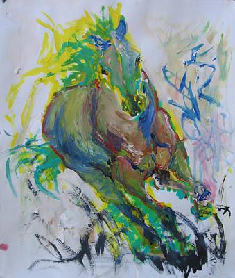 Z Axix Art Print