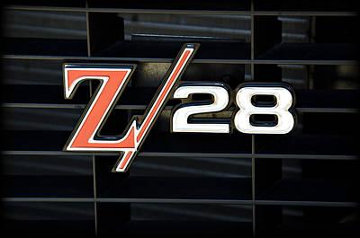 Classic Hotrod Photograph - Z28 by Ricky Barnard