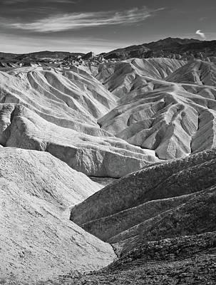 Amargosa Photograph - Zabriskie Point by Jauder Ho / jauderho.com