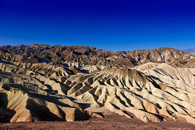 Zabriskie Point No.1 Art Print by Niels Nielsen
