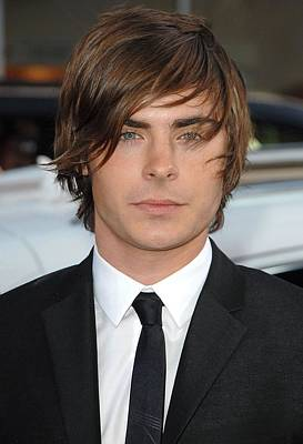 Zac Efron At Arrivals For 17 Again Art Print