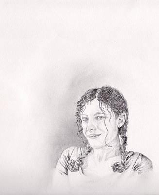 Zareen Art Print