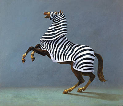 Painting - Zebra by Marian Christopher Zacharow
