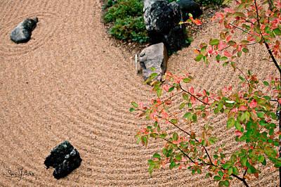 Zen Buddhist Meditation Garden No.1 Art Print by Iuliana Pacso