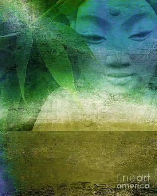Zen Garaden Art Print by Ricki Mountain