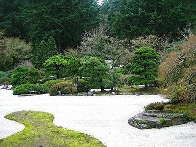 Zen Garden Art Print by Melissa Stinson-Borg