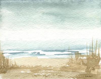 Zen Landscape 1 Art Print by Sean Seal