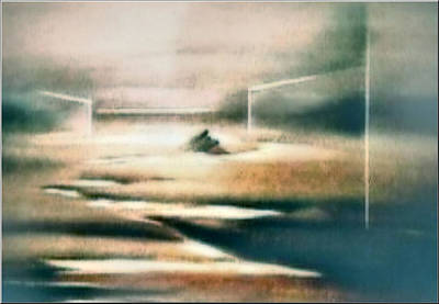 Painting - Zencomp 1982 by Glenn Bautista