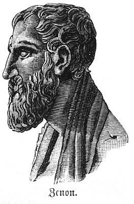 Zeno Of Elea (c495-c430 B.c.) Art Print by Granger