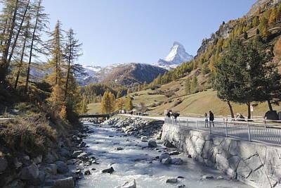 Zermatt Village Original by Raghavendra Nagaraj