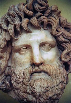 Zeus Head Art Print by Andonis Katanos