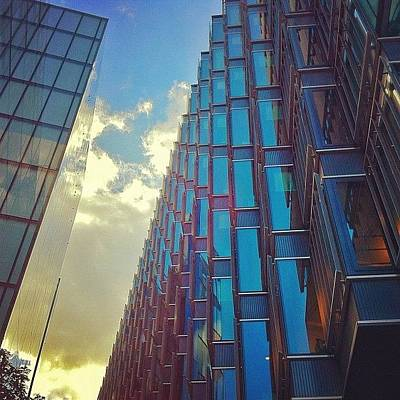 London Photograph - Zig Zag by Samuel Gunnell