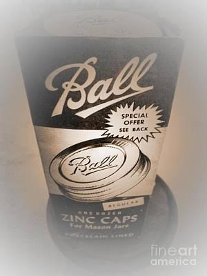 Zinc By Ball Art Print