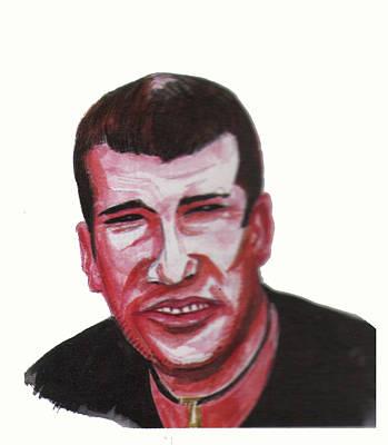 Zinedine Zidane 02 Art Print by Emmanuel Baliyanga