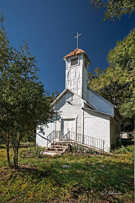 Photograph - Zion Baptist Church by Christopher Holmes