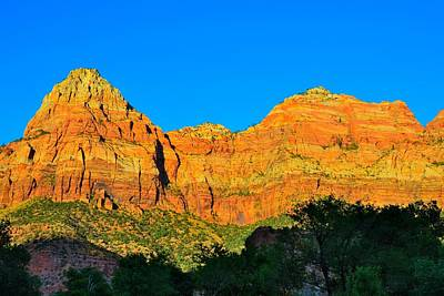 Photograph - Zion by Mark Bowmer