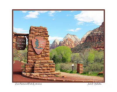 Beers On Tap - Zion National Park Entrance by Jack Schultz
