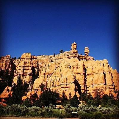 Rock Wall Art - Photograph - Zion National Park by Luisa Azzolini