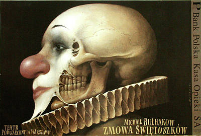 Mixed Media - Zmowa Swietoszkow by Wieslaw Walkuski