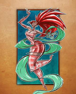 Zola Art Print by Jayson Green
