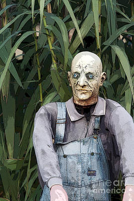 Zombies In The Corn Art Print by Christopher Purcell