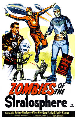 Zombies Of The Stratosphere, 1952 Art Print by Everett