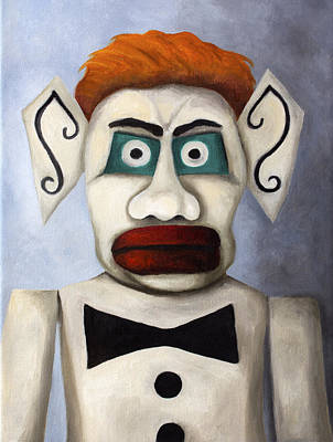 Burning Man Painting - Zozobra Of Santa Fe by Leah Saulnier The Painting Maniac
