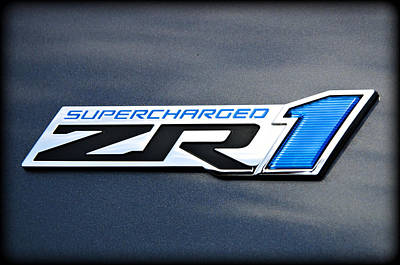 Sports Royalty-Free and Rights-Managed Images - ZR1 Power by Ricky Barnard