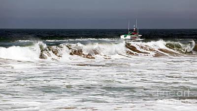 Photograph - Zuma Waves by John Rizzuto