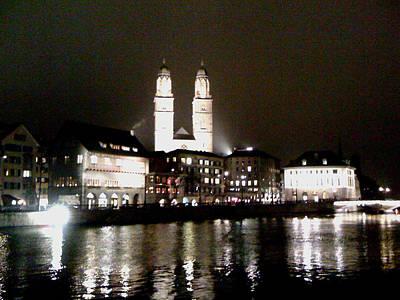 Photograph - Zurich-1 by Rezzan Erguvan-Onal