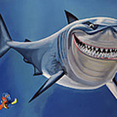 Finding Nemo Painting Art Print