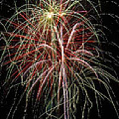 Amazing Fireworks Art Print