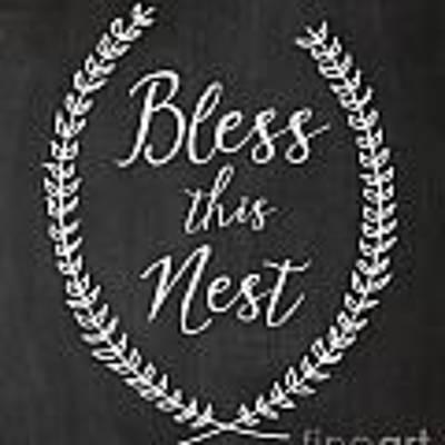 Bless This Nest Original by Natalie Skywalker