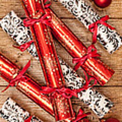 Christmas Crackers Art Print