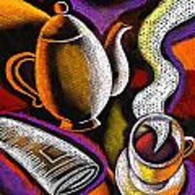 Coffee And News Original by Leon Zernitsky