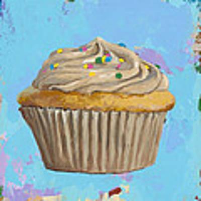 Cupcake #1 Art Print by David Palmer