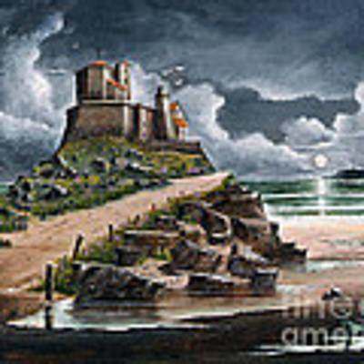 Lindisfarne Art Print by Ken Wood